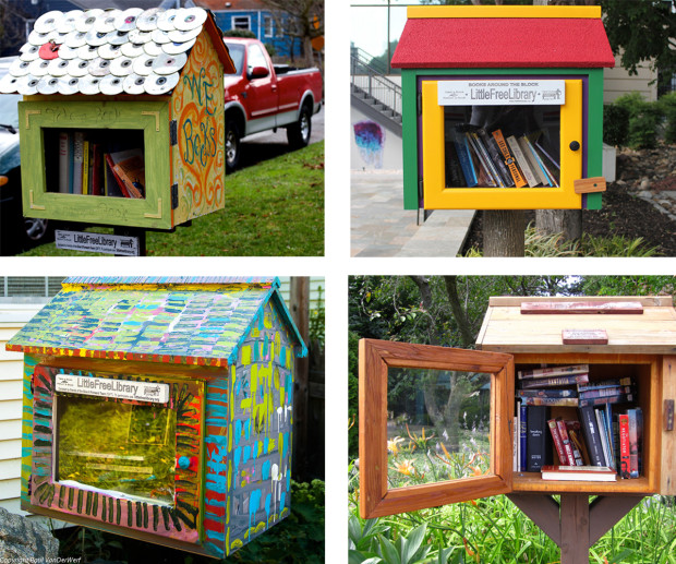 little free libraries in Harrison Hot Springs