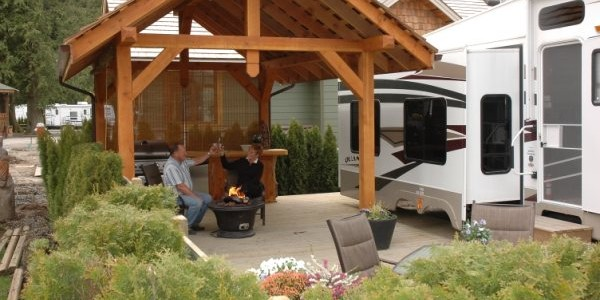 Harrison Hot Spring RV Camping, RV Parks near Vancouver