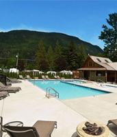 Beautiful heated pool and hot tub.