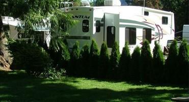 Harrison Hot Springs & RV campsites BC