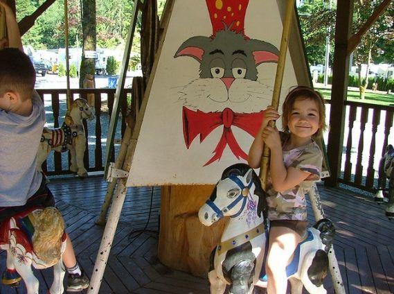 Harrison RV Resort With Pool, carousel