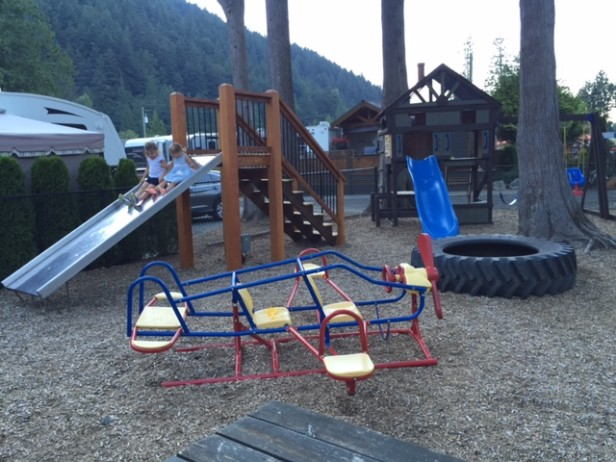 Springs RV Resort in BC, Harrison Hot Springs RV Resort