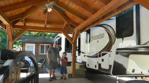 Springs RV Resort - Visit Harrison Hot Springs With Kids