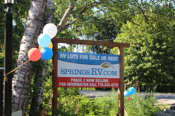 rv lots for sale fraser valley